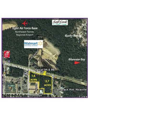 Commercial Property for Sale, ListingId:16708459, location: 0000 JOHN SIMS PKWY Niceville 32578